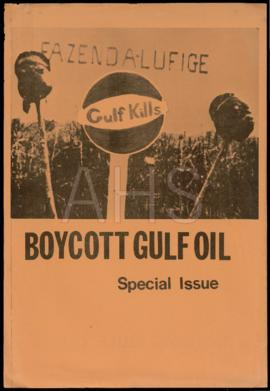 «Boycott Gulf Oil / Special Issue»