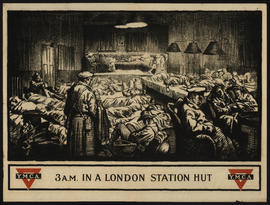 3 A.M. in a London station hut / E. Wright