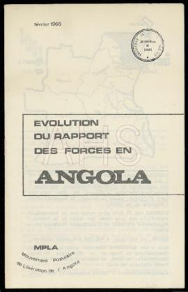 «Evolution du rapport des forces en Angola»