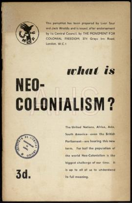 «What is Neo-Colonialism»