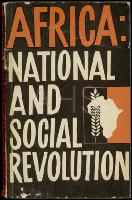 """Africa: National and Social Revolution"". Praga: Peace and Socialisme Publishers, 1967"