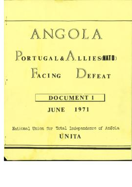 «Angola, Portugal e Allies (Nato) Facing Defeat - Document 1»