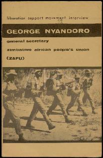 «George Nyandoro: General Secretary Zimbabwe African People's Union (ZAPU)»