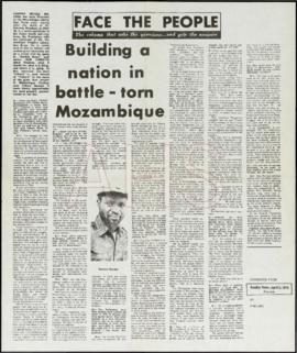 «Building a nation in battle - torn Mozambique»