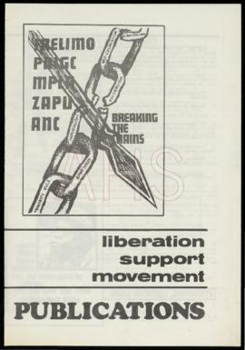 """Breaking the chains, Liberation Support Movement Publications"""